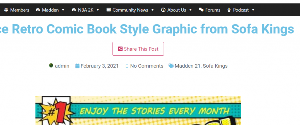 We Added Share Buttons! Features