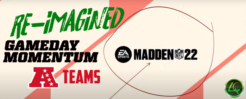 Madden 22 - AFC Home Field Advantage Re-Imagined Madden 22, CFM, Features, Franchise, Home Field Advantage